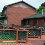 Stone Fence deck